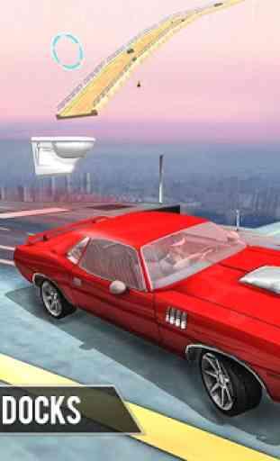 Rampa jogos carro dublês: Jogos dublês Impossible 4
