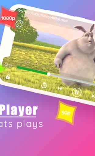 Todos os formatos de player de vídeo 1