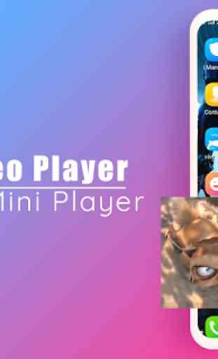 Todos os formatos de player de vídeo 3