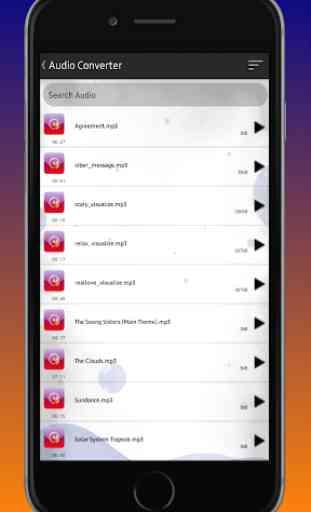 Audio Converter (MP3, AAC, WMA)-Fast Mp3 Convert 3