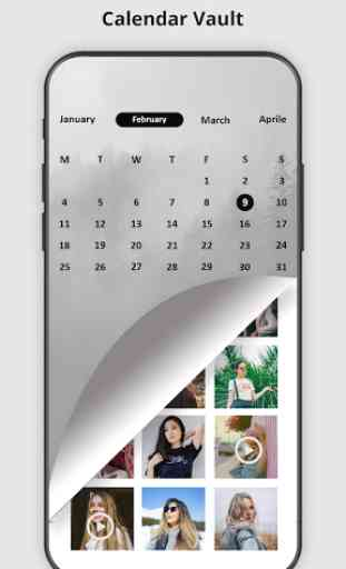 Calendar Vault – Photo Video Audio Locker 1