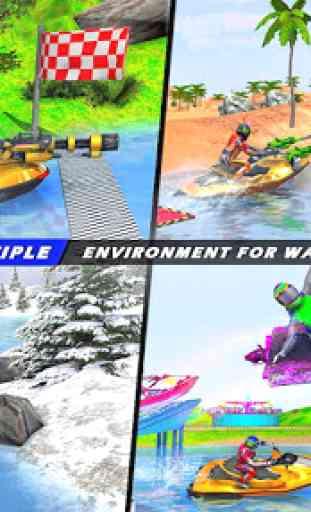 Jogos de corrida em jet ski: tiro de barco 3