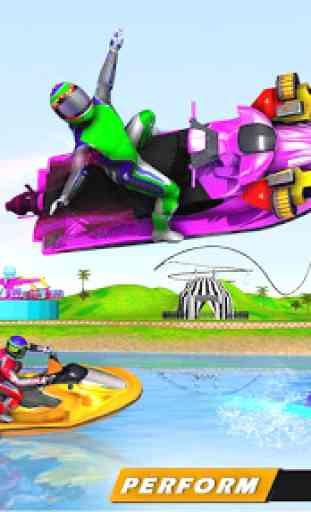 Jogos de corrida em jet ski: tiro de barco 4