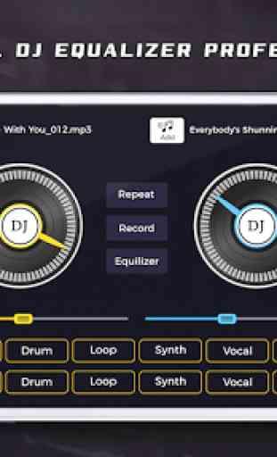Mobile DJ Songs Mixer 1