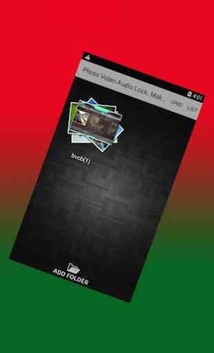 Photo Video Audio Lock.Faça com que sejam privados 3