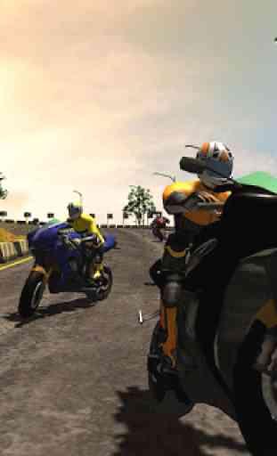 Montanha Motocicleta Corridas Novo 3