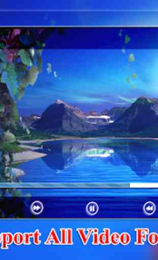 MP4 AVI 3GP HD Video Player 2