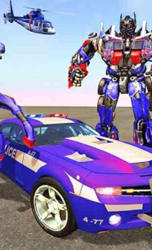 Multi Robot Transforming : Wild Horse Police Car 1
