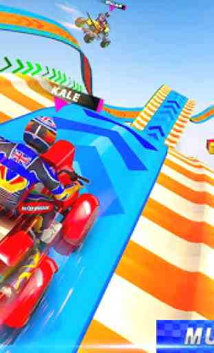 ATV quad bike racing- jogos de acrobacias na rampa 2