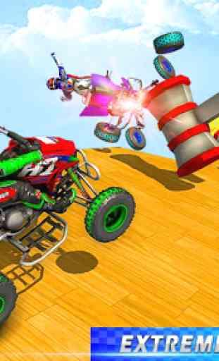 ATV quad bike racing- jogos de acrobacias na rampa 4