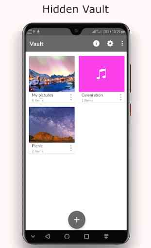 Hide photo,video and audio:Music Player Vault 3