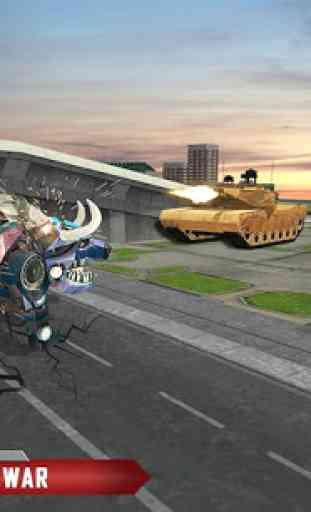 multi robô transform cão policial, tigre e gato 3