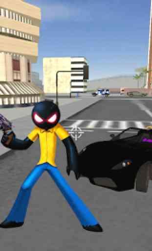 StickMan Rope Hero Vegas Mafia Fight To Survive 1