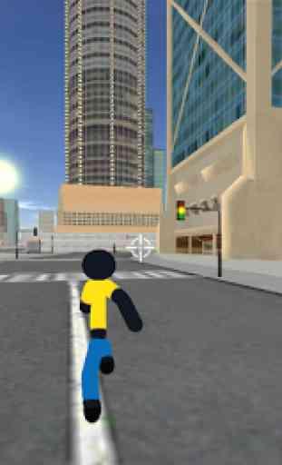 StickMan Rope Hero Vegas Mafia Fight To Survive 2