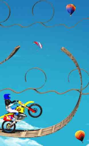Stunt Bike Racing Impossible Tracks Stunt Games 2