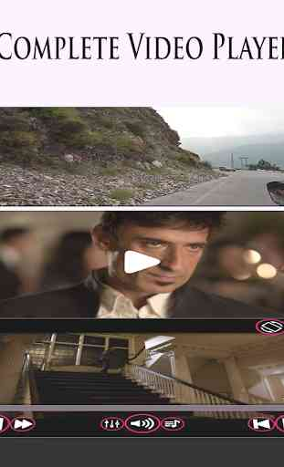 3GP/MP4/AVI Video Player 1