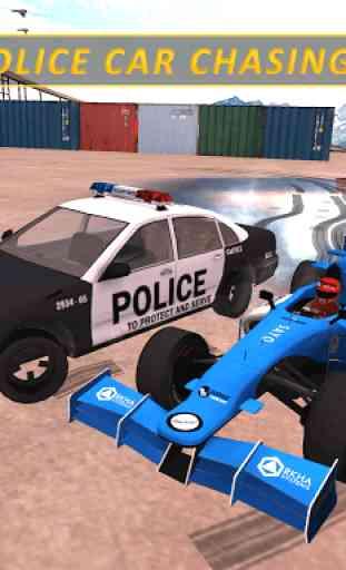 carro de fórmula - perseguição policial louca 2020 1