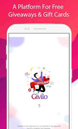 Givilo - Win Free Giveaways & Gift Cards 1