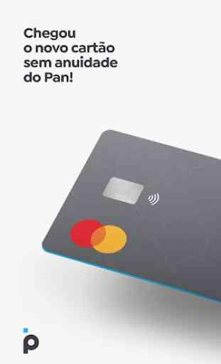 Banco PAN - conta digital com cartão de crédito 1