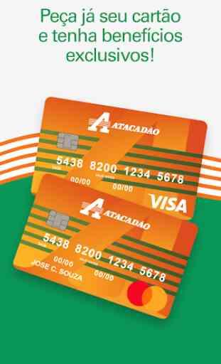Cartão de Crédito Atacadão 1