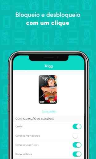 Cartão de crédito Trigg 3