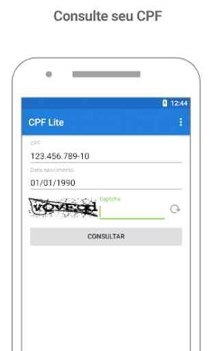 Consulta CPF : Situação e Score Grátis 1