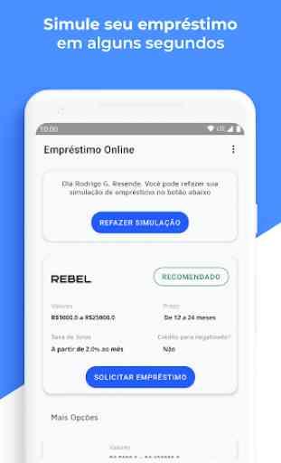 Empréstimo Online e Cartões - Mobills 2