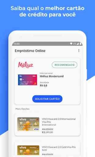 Empréstimo Online e Cartões - Mobills 3