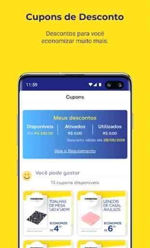 Pernambucanas: Compre Online, Sacola de Descontos 3
