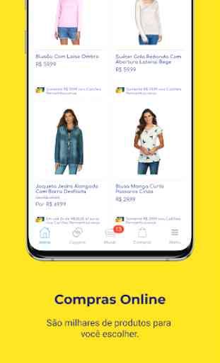 Pernambucanas: Compre Online, Sacola de Descontos 4