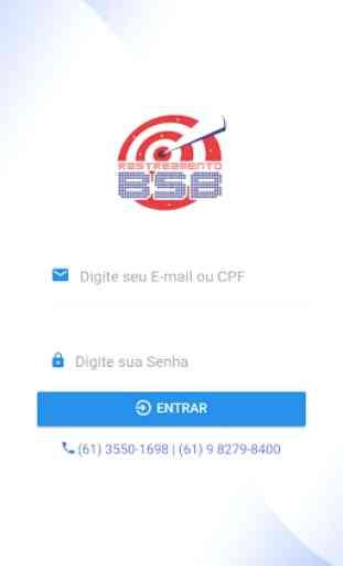 Plataforma Servidor A - Rastreamento BSB 1