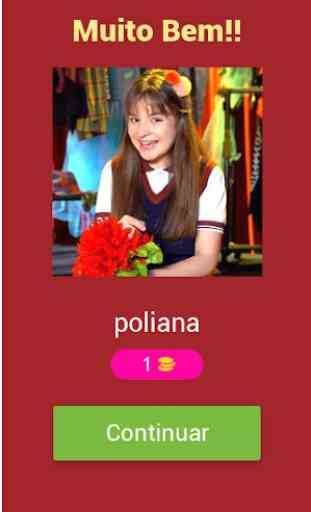 Quiz - As Aventuras de Poliana 2