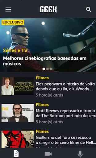 TIM Geek-Cinema,Séries e Geeks 2