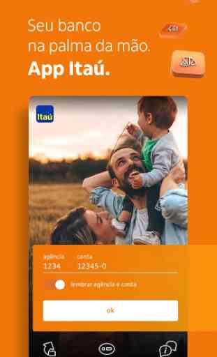 Banco Itaú: sua conta no app 1