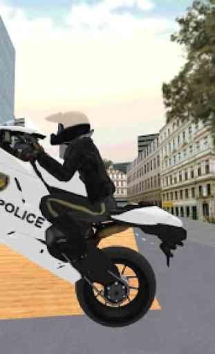 Police Motorbike Simulator 3D 2