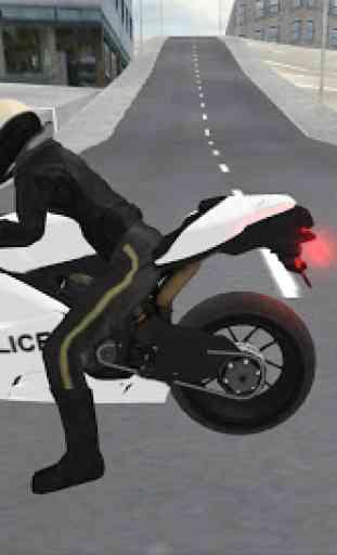 Police Motorbike Simulator 3D 3