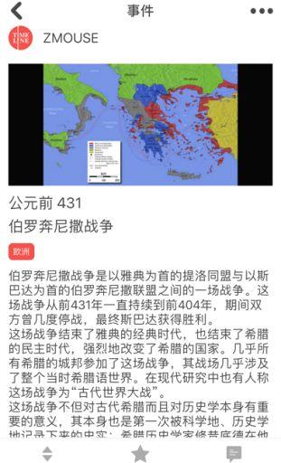 Timeline - World History (iOS) image 2