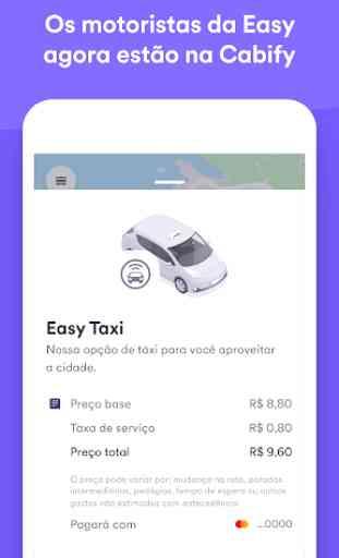 Easy Taxi, um app da Cabify 1