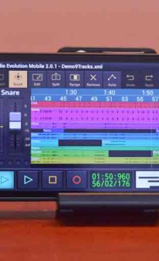 Audio Evolution Mobile DEMO 4
