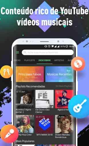 Lark Player - Músicas grátis YouTube & MP3 Player 1