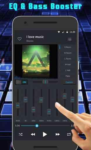 Music Player e reprodutor de vídeo 2