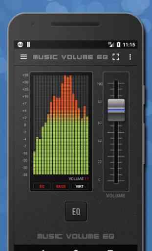 Músicas Equalizador de som -Amplificador de graves 1
