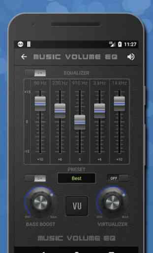 Músicas Equalizador de som -Amplificador de graves 2