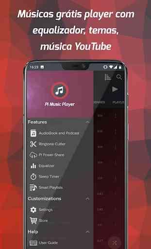 Pi Music Player - Músicas grátis player & YouTube 1