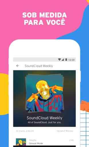 SoundCloud - música e áudio 3