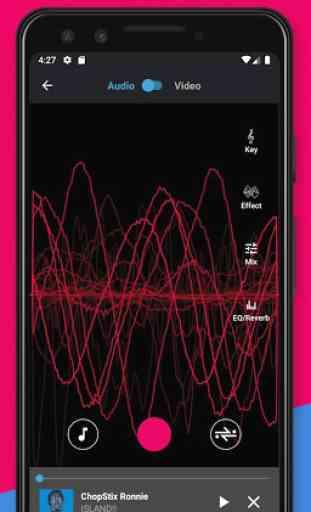 Voloco: Sintonia + Harmonia de Voz Automáticas 1