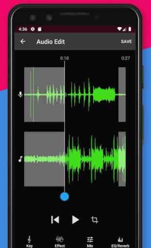 Voloco: Sintonia + Harmonia de Voz Automáticas 4